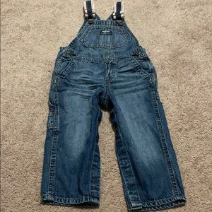 Osh kosh baby 18-24 month denim jean overalls